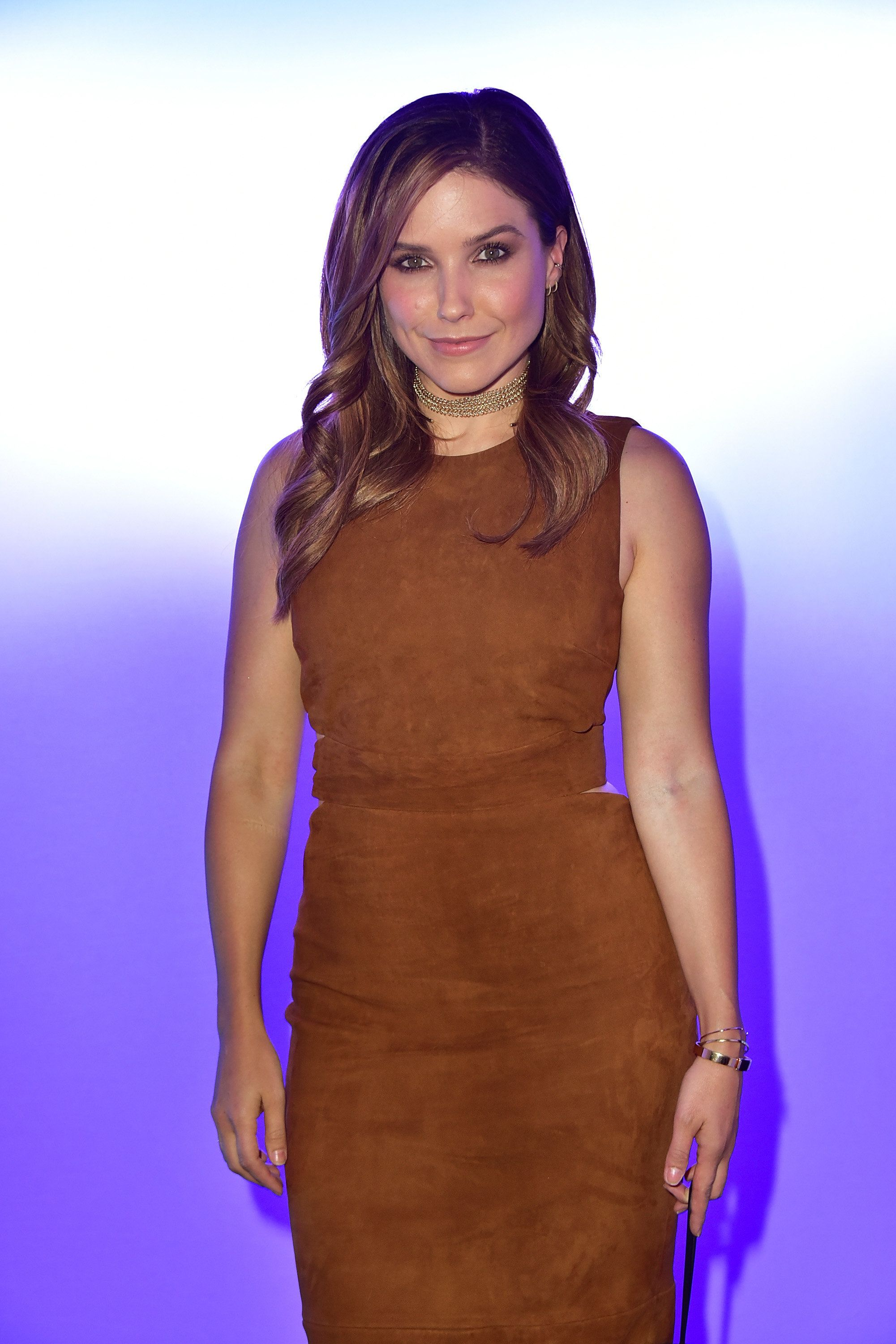 NEW YORK, NY - SEPTEMBER 09:  Actress Sophia Bush attends the Cushnie Et Ochs show during September 2016 New York Fashion Week: The Shows event at The Dock, Skylight at Moynihan Station on September 9, 2016 in New York City.  (Photo by Brian Killian/WireImage)