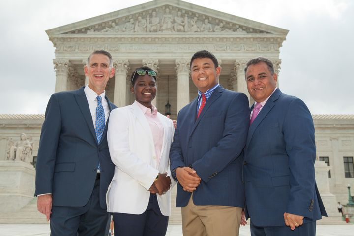 Bourke DeLeon Family at US Supreme Court