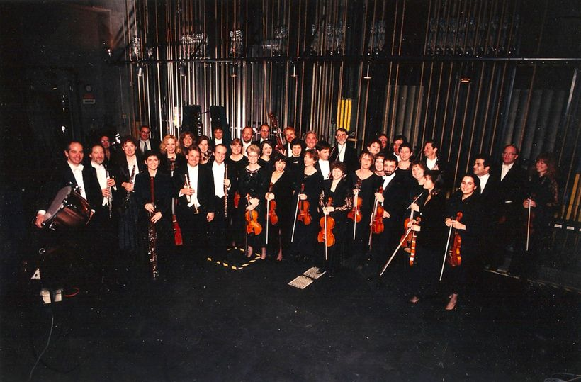 From a 2008 performance, backstage at the Ambassador Auditorium