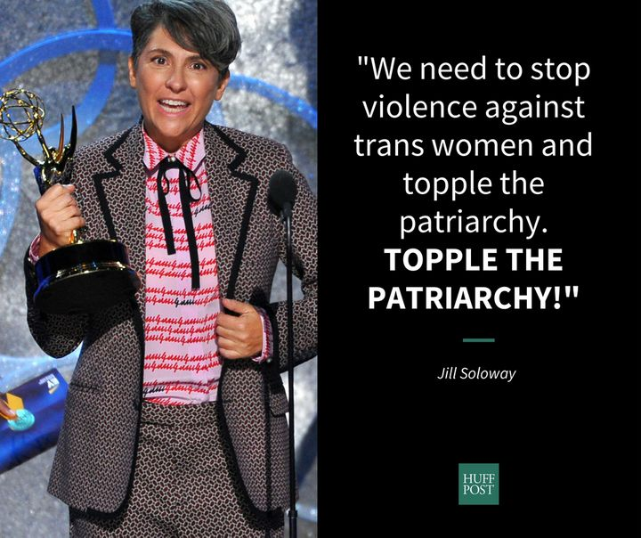 Jill Soloway advocates for the trans community.