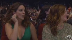 Tina Fey's Face After That Bill Cosby Joke At The Emmys Says It
