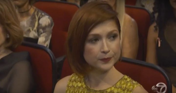 Ellie Kemper is evidently not a Bill Cosby fan.