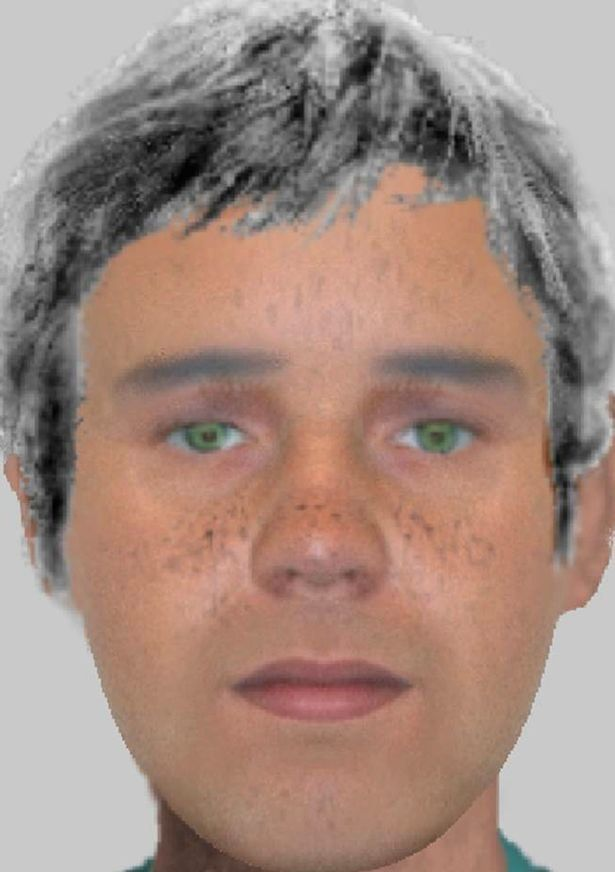 An e-fit of the suspect released by Thames Valley