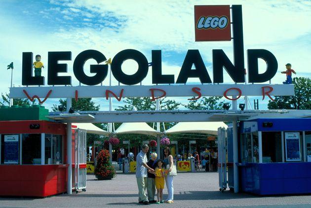 The entrance to Legoland Windsor (file