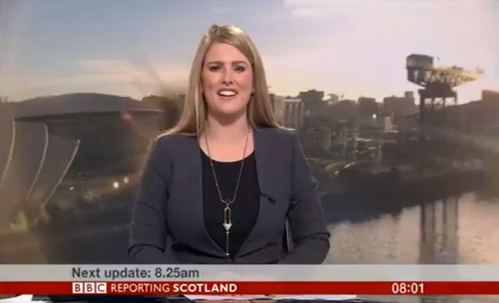 Viewers Terrified As BBC News Broadcast Invaded By Giant