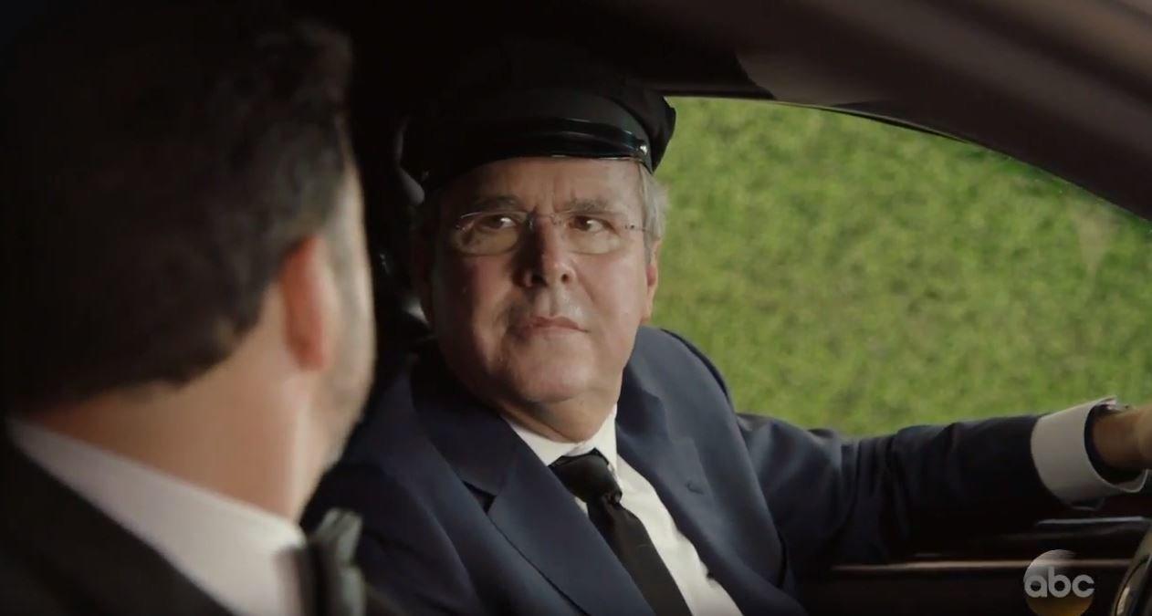 Ex-Presidential Hopeful Jeb Bush Pokes Fun At Himself In Jimmy Kimmel's Emmys