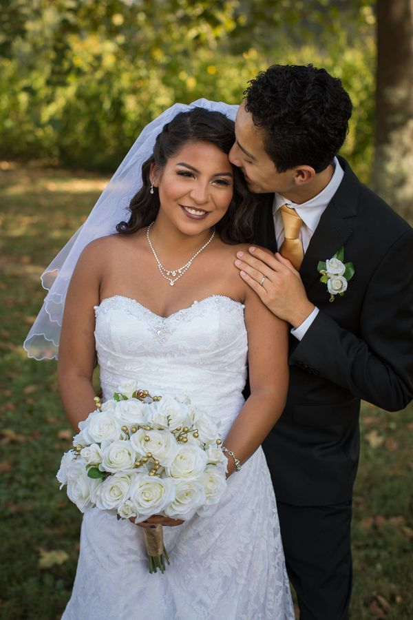 """""""Congratulations to Luis and Janelle who were married on a gorgeous September day in East Tennessee!"""" — <i>Suzanne McNe"""