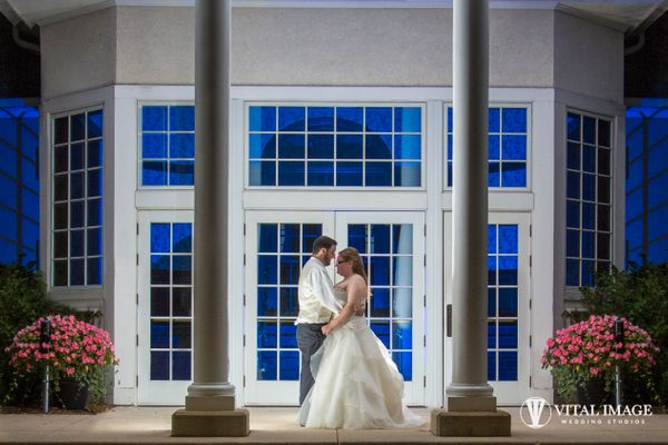 """""""On Saturday, Melissa and Steve were married in a wonderful ceremony. Then they went to the Country Springs Hotel in Pewaukee"""