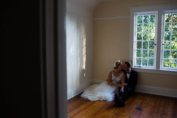"""""""Giselle and Mattat the couple's restored house in Savannah, Georgia."""" — <i>Dustin Cantrell</i>"""
