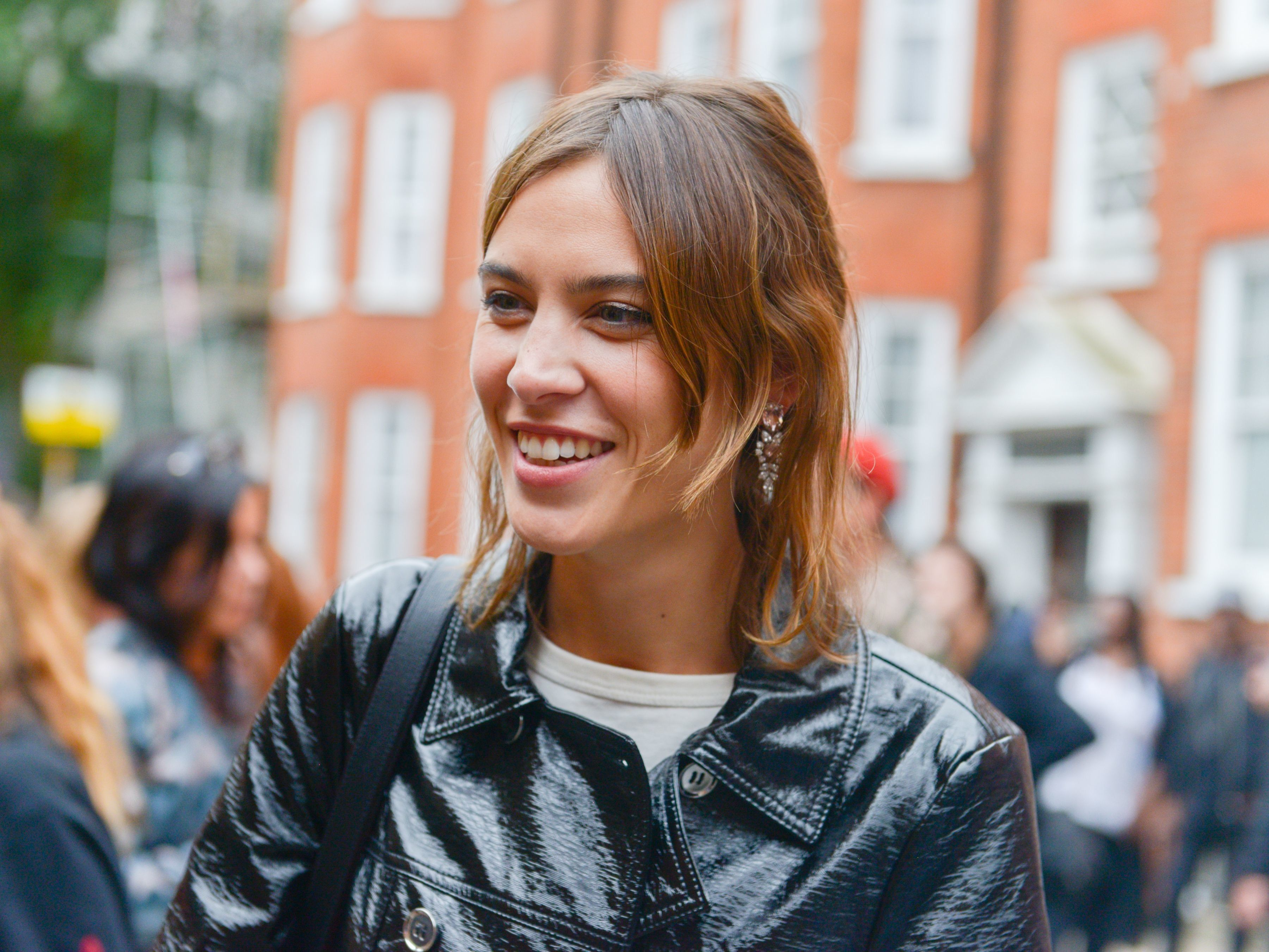 Alexa Chung Debuts Her Winter M&S Range At London Fashion