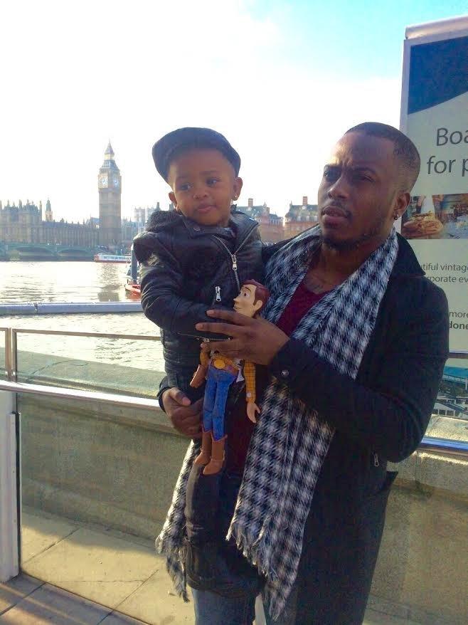Ruben Vemba and his son