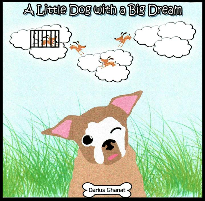 """A Little Dog with a Big Dream"" by Darius Ghanat"
