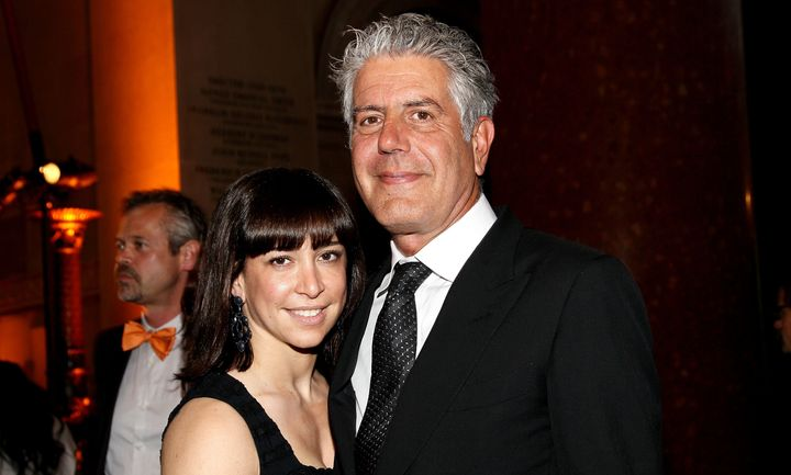 Anthony Bourdain and his wife Ottavia Busia are doing their own version of conscious uncoupling.