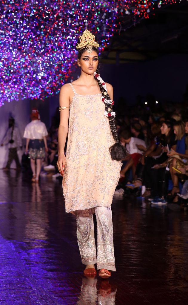 London Fashion Week 2016: Ashish SS17 Brought Bollywood To Brewer