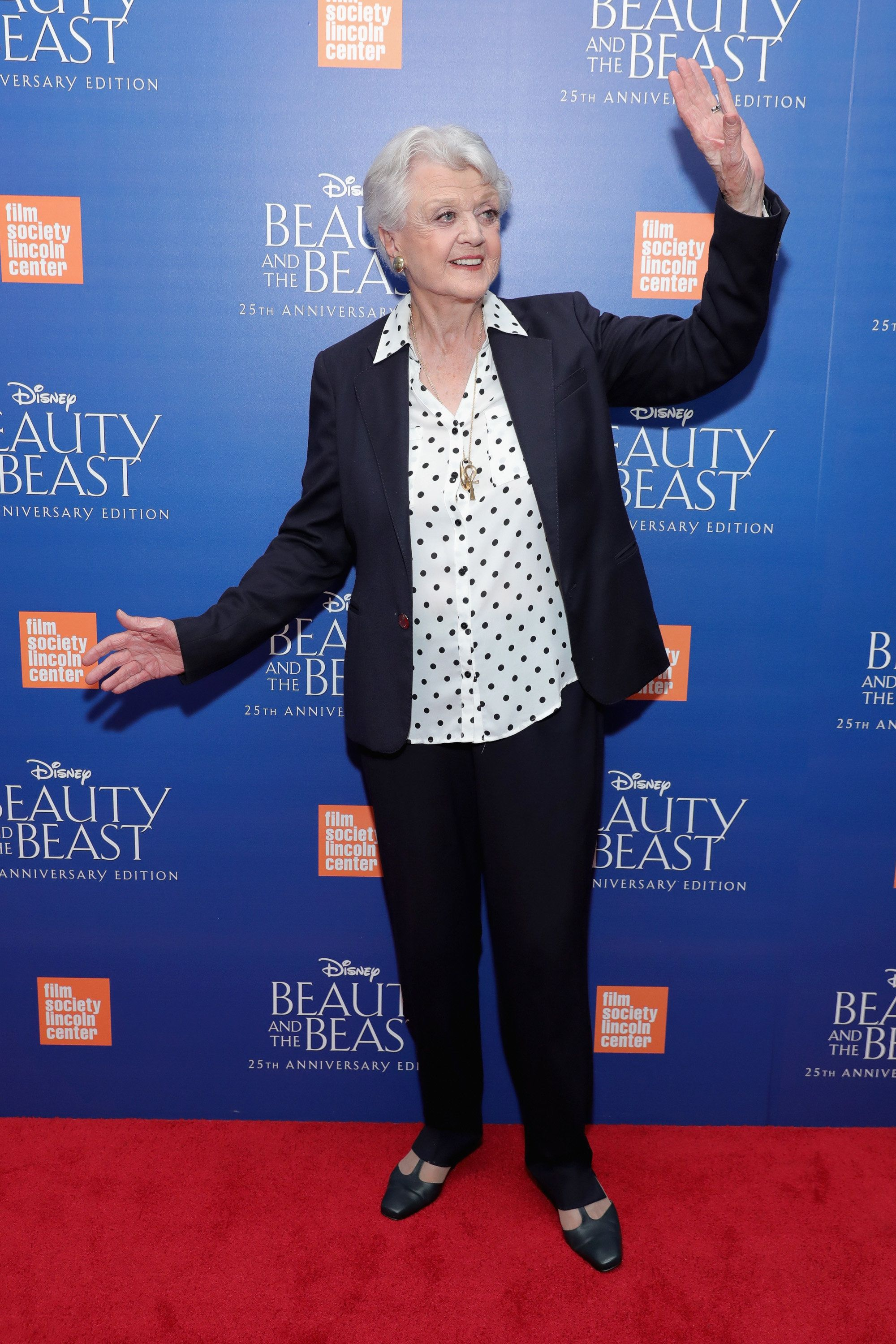 NEW YORK, NY - SEPTEMBER 18:  Angela Lansbury attends the special screening of Disney's 'Beauty and the Beast' to celebrate the 25th Anniversary Edition release on Blu-Ray and DVD on September 18, 2016 in New York City.  (Photo by Neilson Barnard/Getty Images for Walt Disney Studios Home Entertainment)
