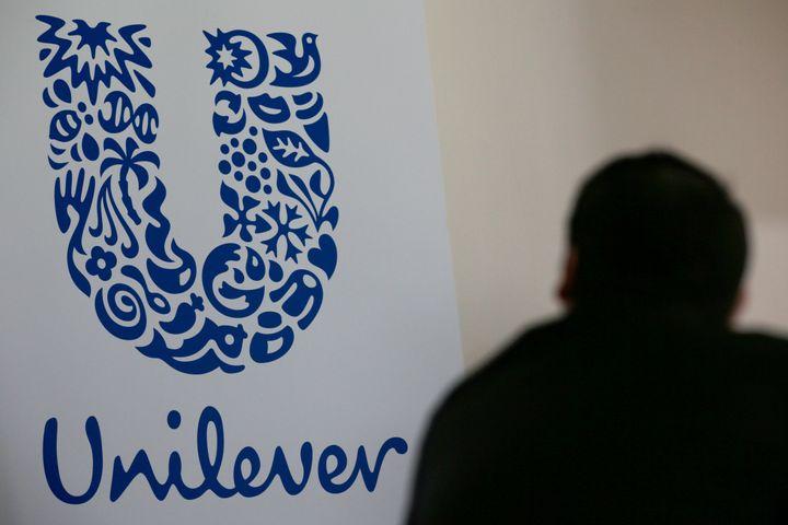 The Unilever logo.