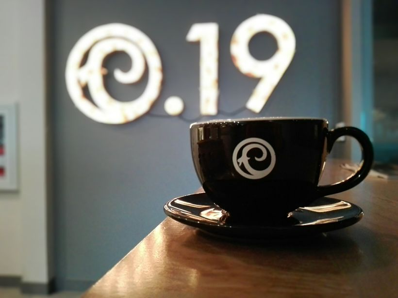 Craft 19 is an urban coffee oasis in an otherwise sleepy and nostalgic city