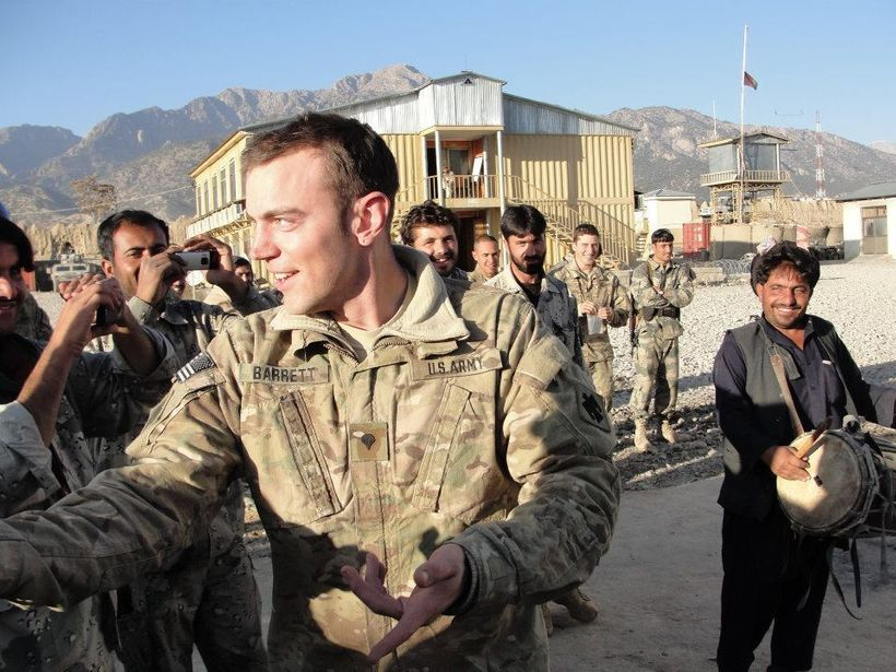 Asa Barrett was deployed from 2011-2012 to Afghanistan, and also served in Kuwait and Kazakhstan.