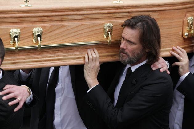 The actor attended the funeral of Cathriona in Ireland, last