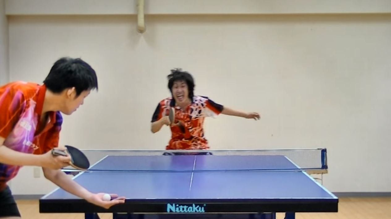 This Japanese Ping Pong Player's Trick Shots Are Hilarious And