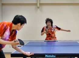 This Japanese Ping Pong Player's Trick Shots Are Hilarious And Impressive