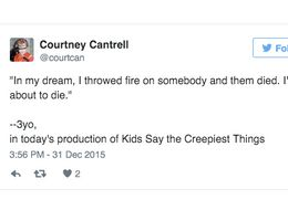 9 Tweets That Prove Kids Are Creepy As Hell