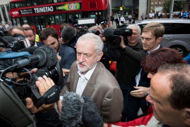 Corbyn faces a leadership