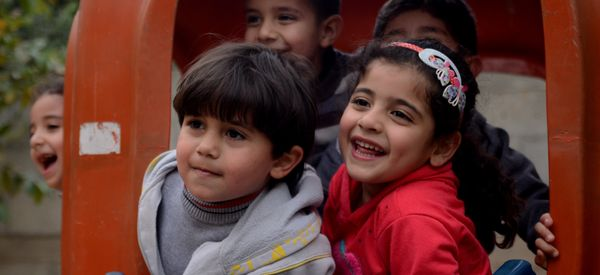 The Universal Lessons We Learn At Playgrounds From Virginia To Palestine