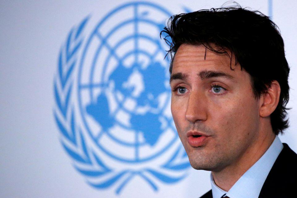 Prime Minister Justin Trudeau of Canada