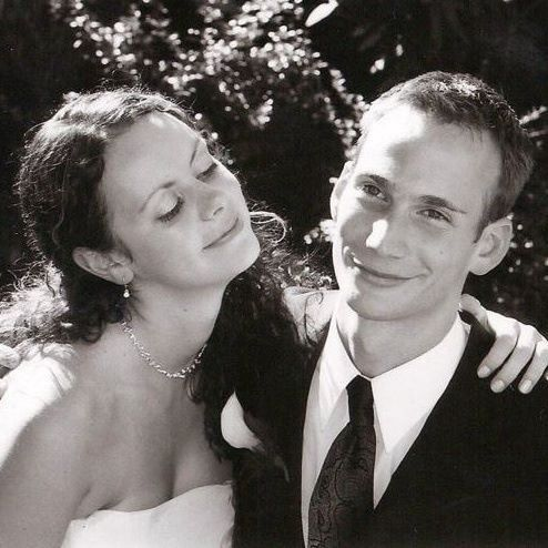 Our wedding day — September 16, 2000