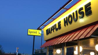Sprint Waffle House Retail Signs Restaurant