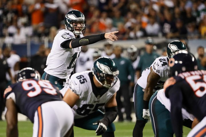 Wentz's dynamic arm and legs are enhanced even more because of his special ability to read NFL defenses before the snap.