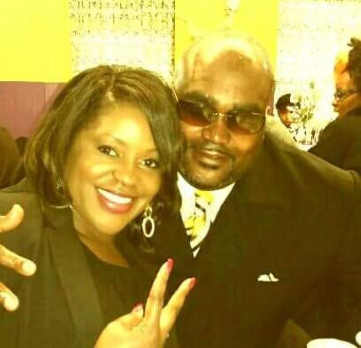 Terence Crutcher pictured with his twin sister, Tiffany Crutcher.