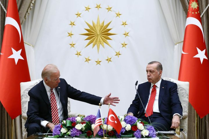 Vice President Joe Biden visited Turkey last month to try to bolster U.S. ties with its long-time ally, which have weakened o