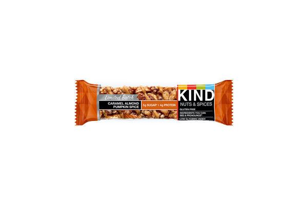 Kind has done its best work in this seasonal bar. It is balanced in its spice, has a candy-coated bottom, and is all around a