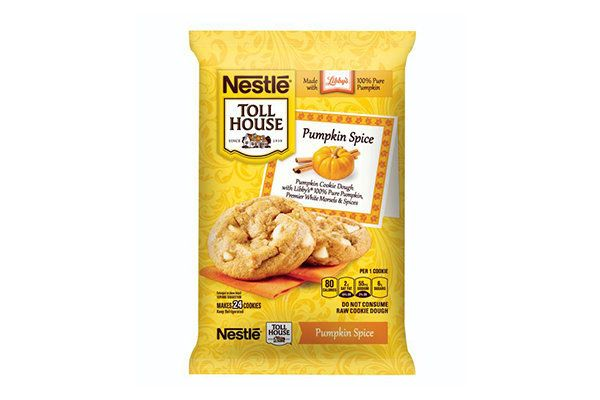 Yummmmmm. Pumpkin spice plays nice in these ready-to-bake cookies. Bonus: your kitchen will smell really nice when you make t