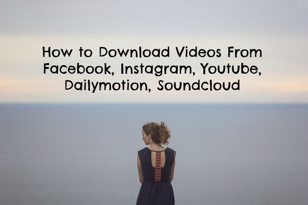 How to Download Videos from all Social Media