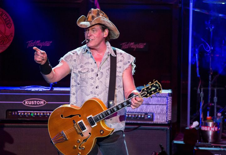 "Ted Nugent called President Barack Obama ""a subhuman mongrel."""