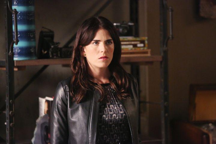 "Karla Souza plays Laurel on ""How To Get Away With Murder."""
