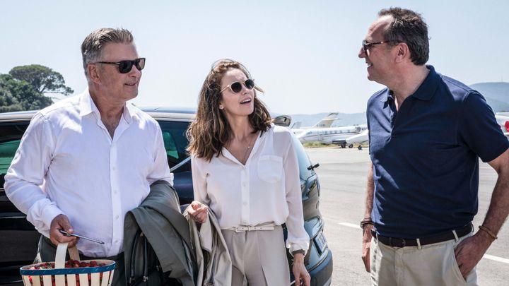 """Alec Baldwin, Diane Lane andArnaud Viard in """"Paris Can Wait."""""""