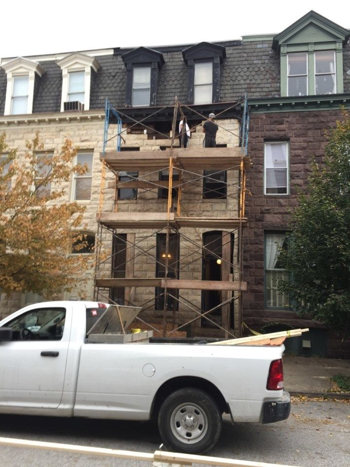 """<p>BroCAR Properties, 2016: Doing another of their signature """"down to the studs"""" total renovations in Washington, DC</p>"""
