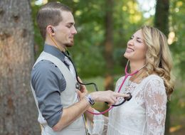 Two Nurses Got Engaged And The Pics Will Make Your Heart Beat Faster