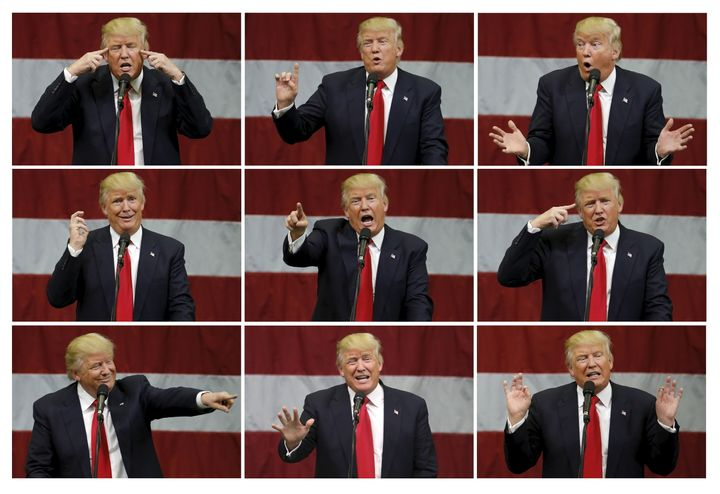 """Republican presidential nominee Donald Trump has claimed global warming is a hoax """"created by and for the Chinese&rdquo"""