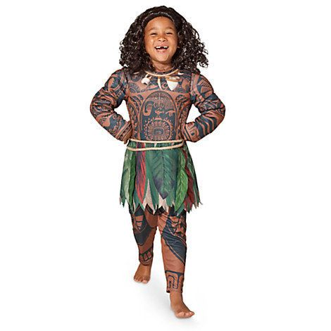 """Handsome Voyage,"" the product description reads. The costume features ""the demigod's signature tattoos, rope necklace a"