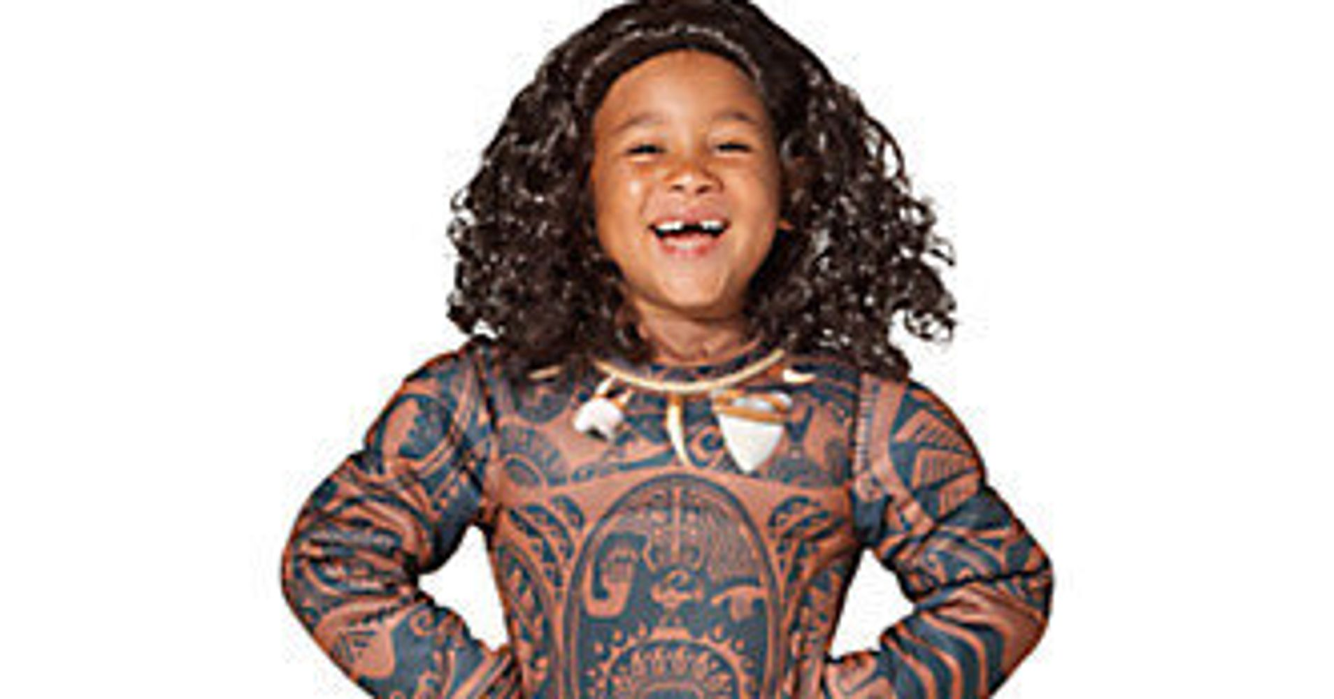 disney pulled that offensive moana costume heres why it matters huffpost
