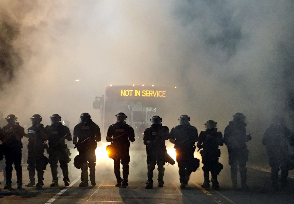 More Than 12 Cops Injured As North Carolina Erupts Over Fatal