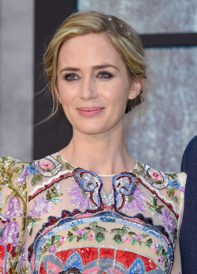 Emily Blunt's 'Girl On The Train' Premiere Dress Was Seriously