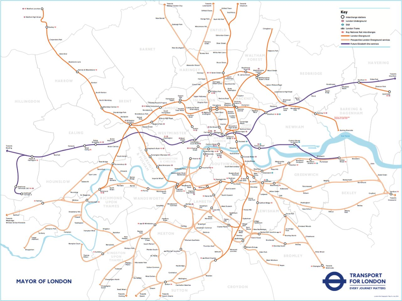 This New TfL Map Could Change The Commute For Millions Of