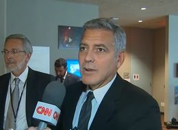 George Clooney's Face Says It All, As He Discovers Brangelina Split Live On CNN