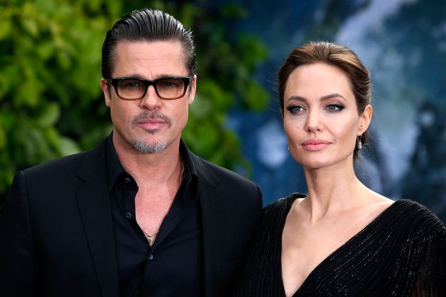 Brad and Angelina in